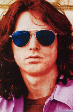 Jim Morrison of the Doors. Click here for the Doors official website.